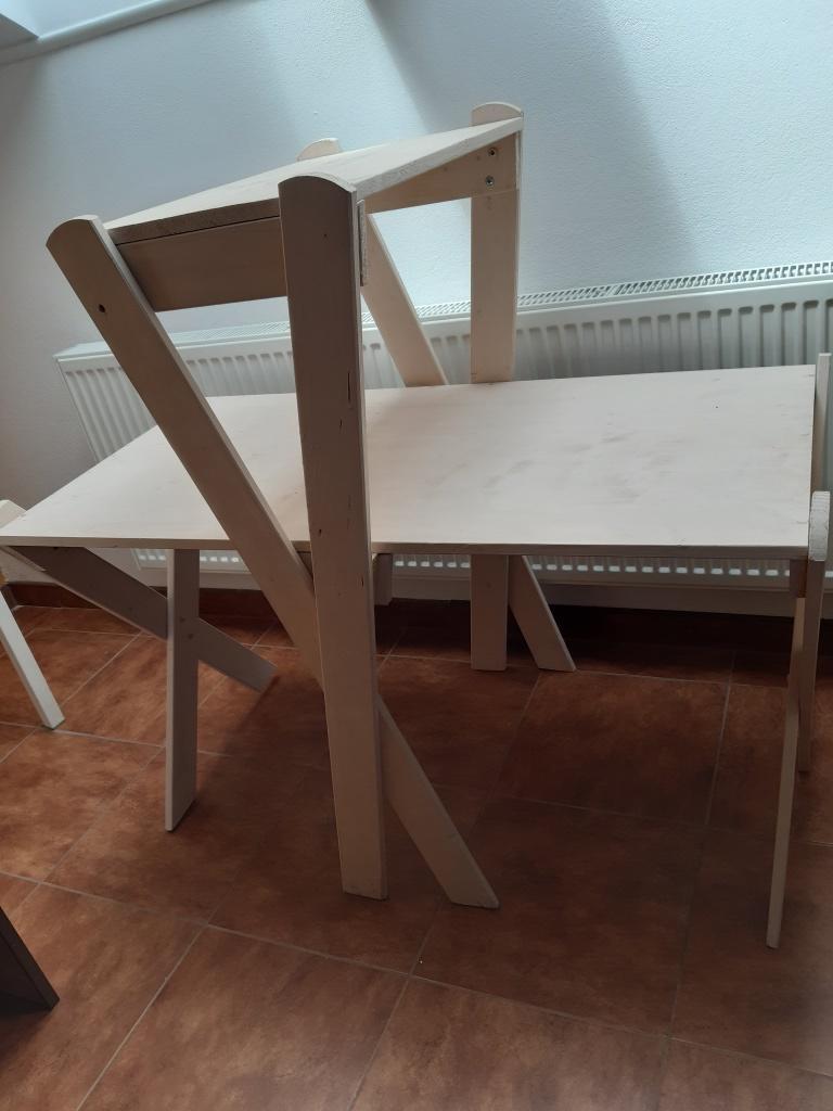 drevený stojan 2 podlažia, - Obrázok č. 1