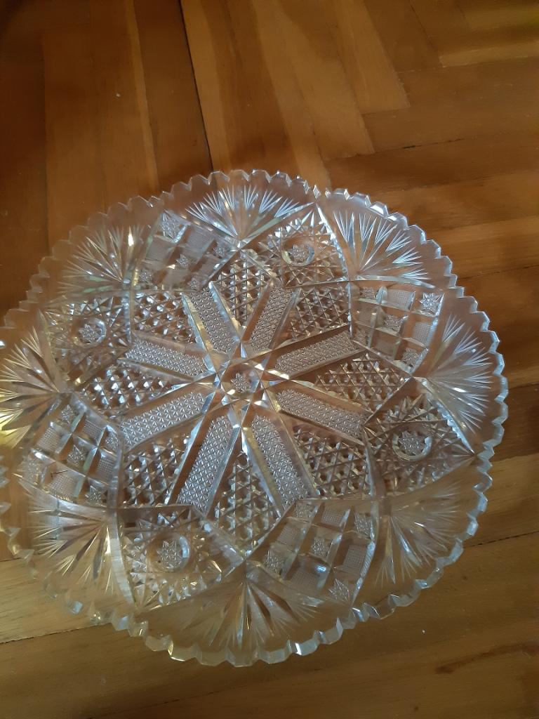 krištálova misa, tanier - Obrázok č. 1