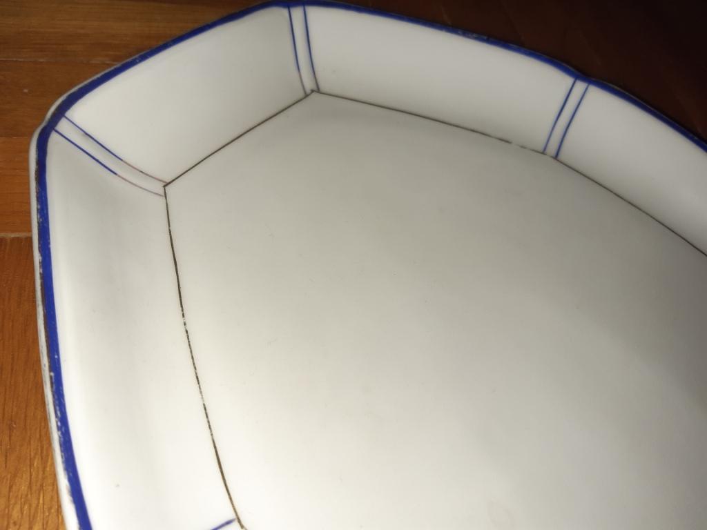 porcelanova starožitna misa - Obrázok č. 2