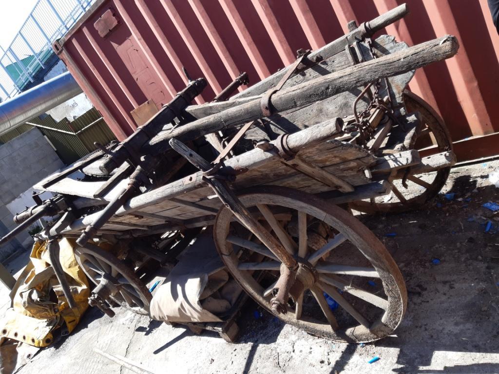 drevený voz  - Obrázok č. 1