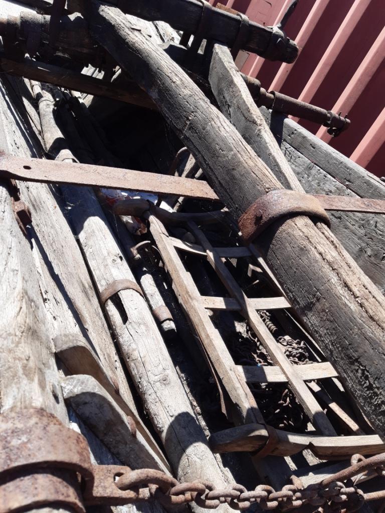 drevený voz  - Obrázok č. 2