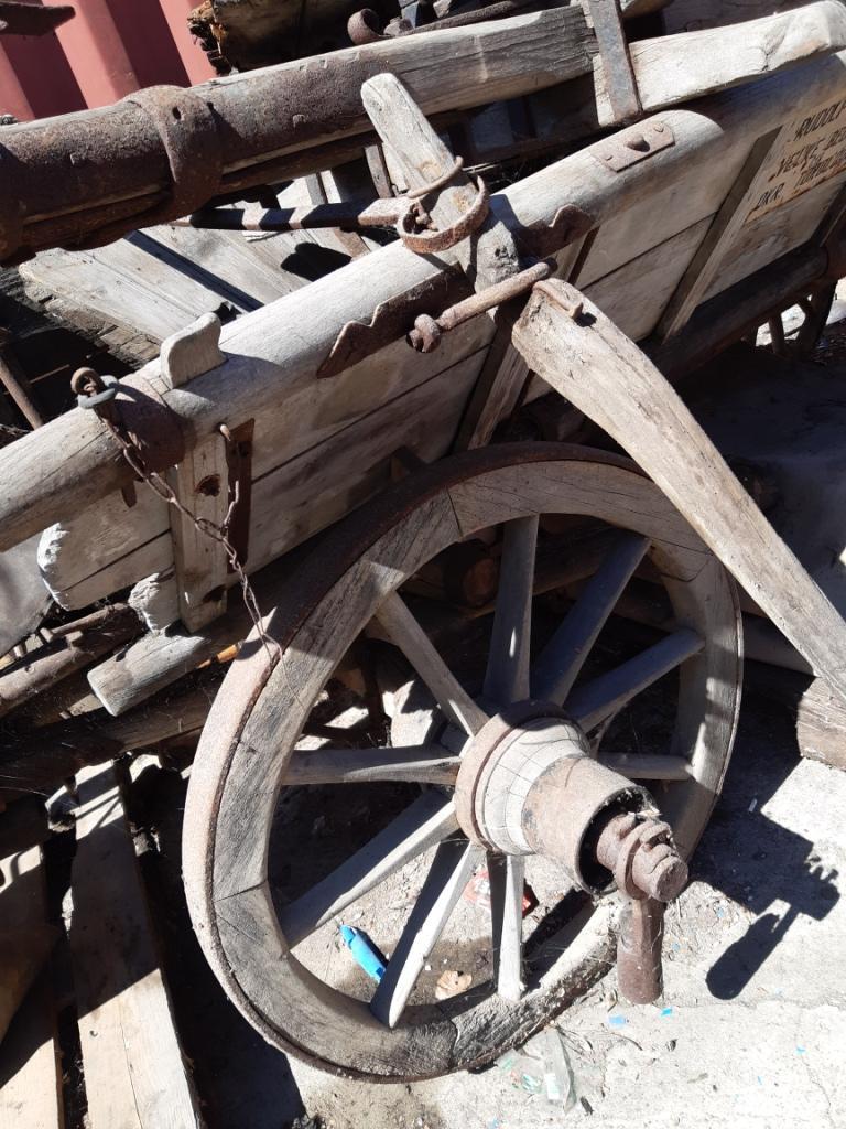 drevený voz  - Obrázok č. 4