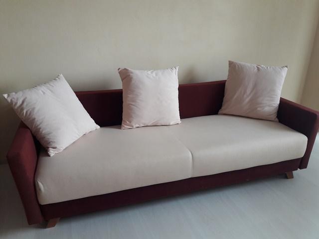 rozkladacia sedačka, gauč, pohovka s ulož. priestorom - Obrázok č. 1