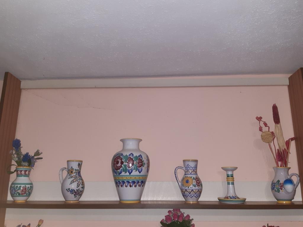 modranska keramika 6ks - Obrázok č. 1