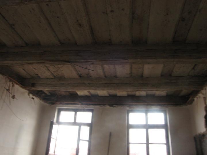 Rekonstrukce se blíží k závěru - Bude krásný - ten strop:)