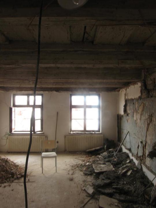 Rekonstrukce se blíží k závěru - A té práce zase....