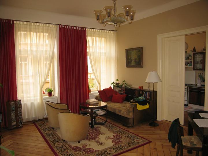 Náš starý byt - Obývací pokoj