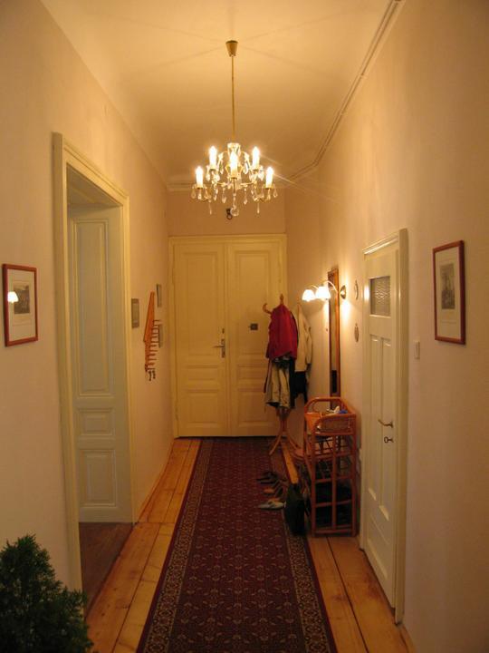 Náš starý byt - Entrée.