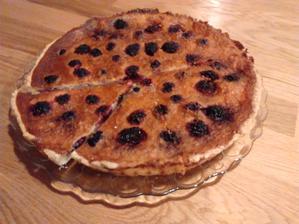 Ostružinový koláč dle Chez Lucie