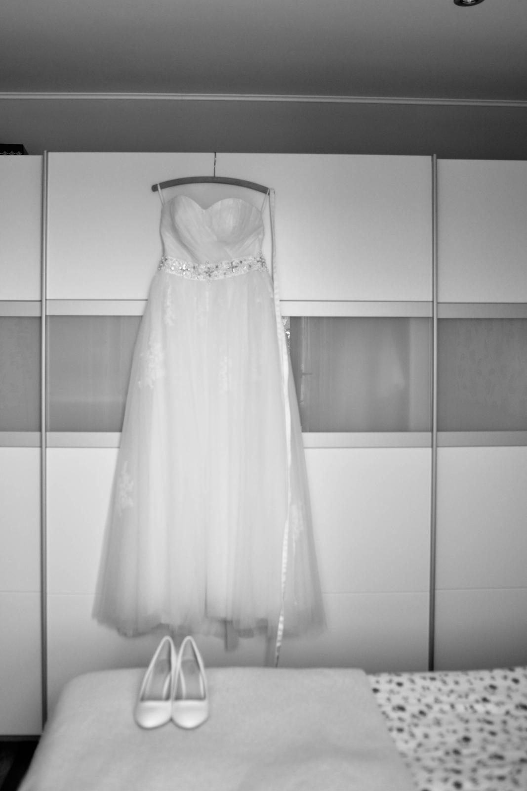 Svadobné šaty 38-42 - Obrázok č. 2
