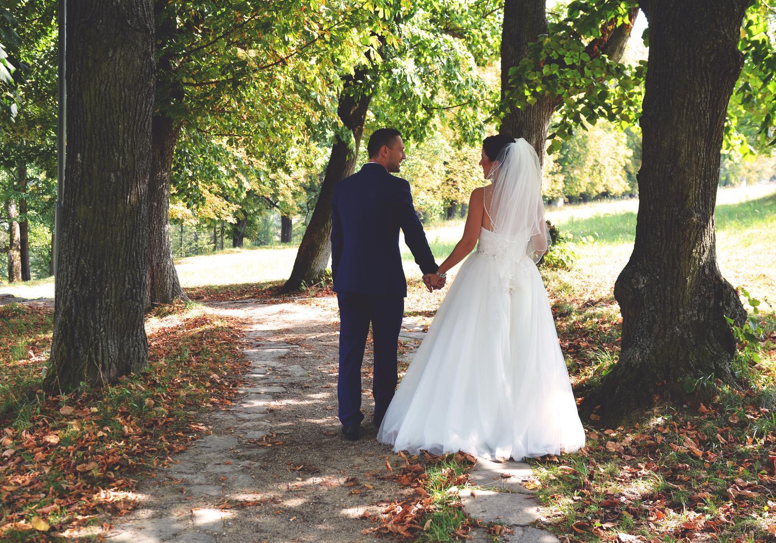 Svadobné šaty 38-42 - Obrázok č. 4