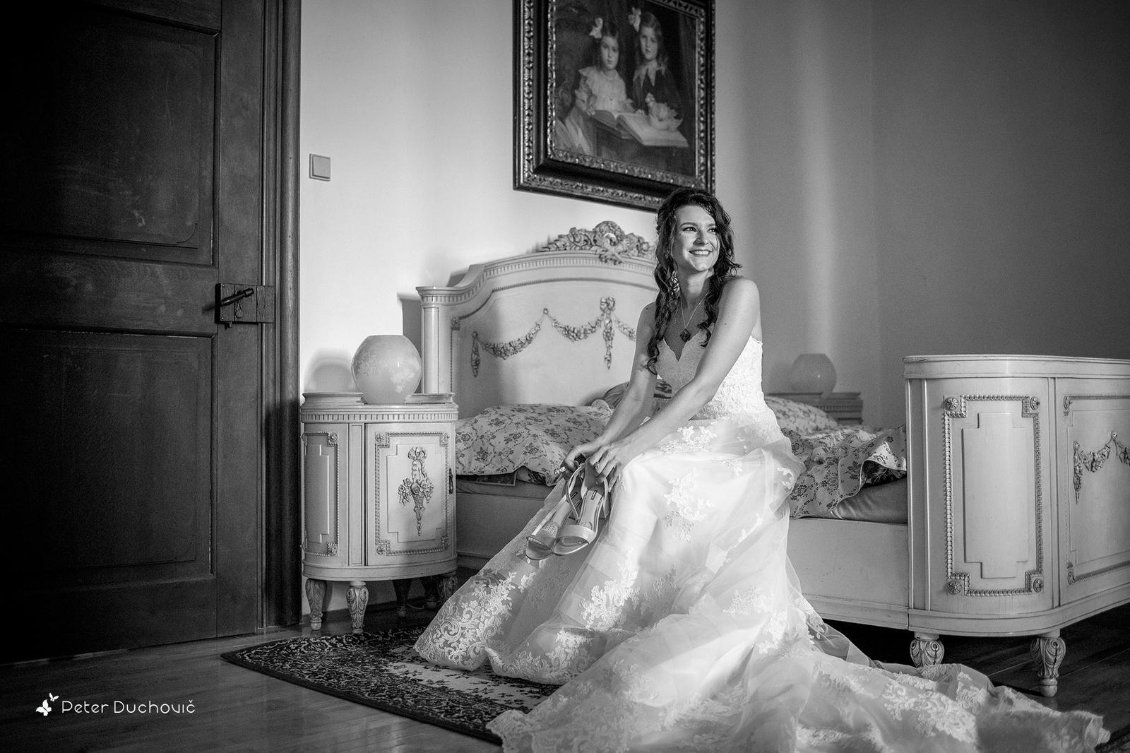 Svadba Eva a Tomáš - hrad Červený kameň - Obrázok č. 1