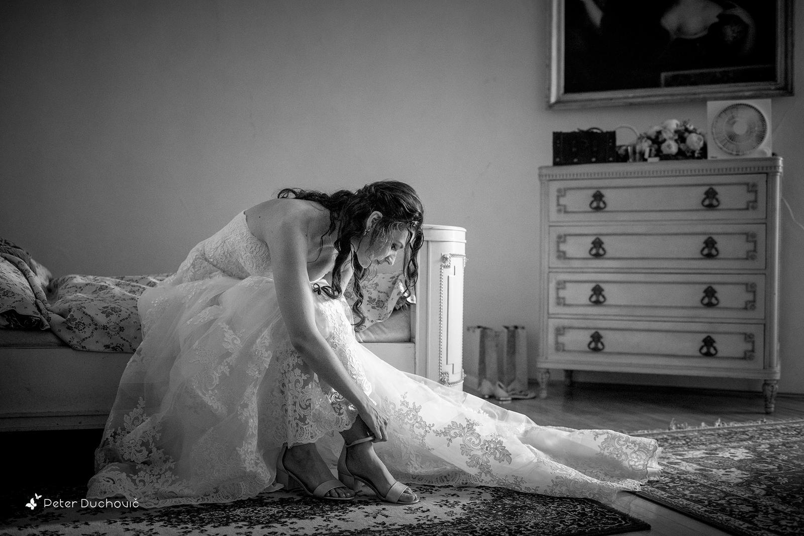 Svadba Eva a Tomáš - hrad Červený kameň - Obrázok č. 3