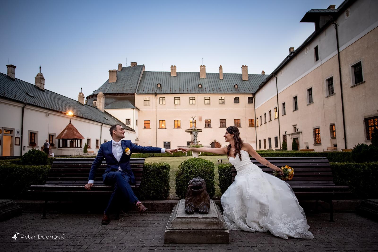 Svadba Eva a Tomáš - hrad Červený kameň - Obrázok č. 6