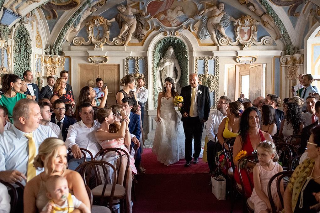 Svadba Eva a Tomáš - hrad Červený kameň - Obrázok č. 13