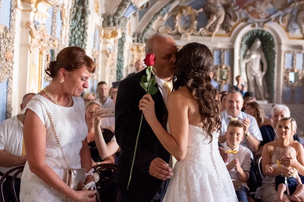Svadba Eva a Tomáš - hrad Červený kameň - Obrázok č. 17