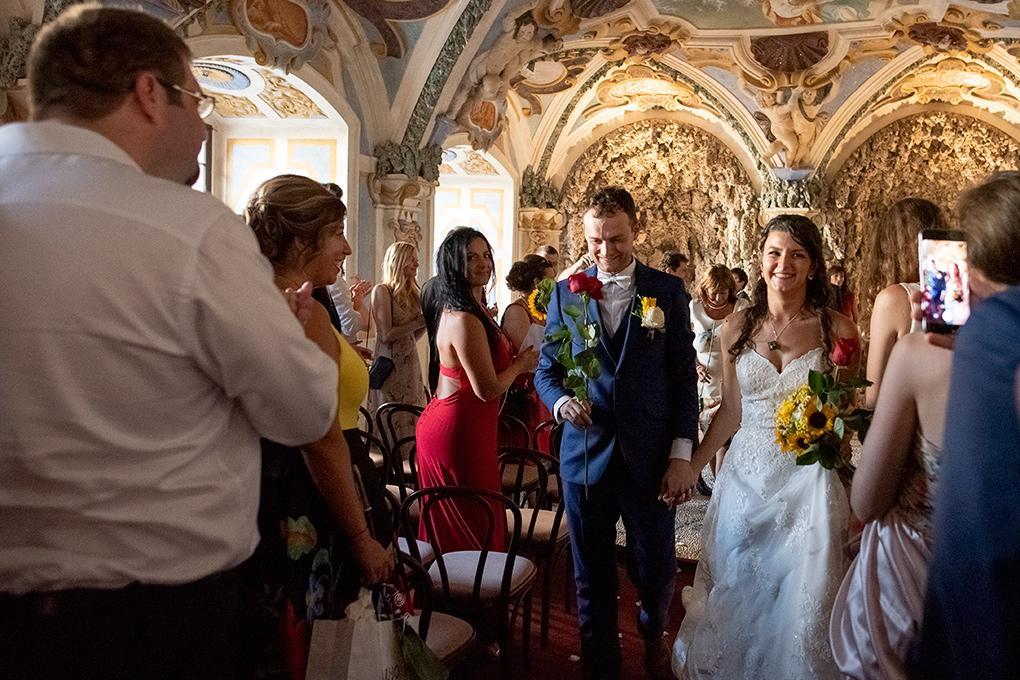 Svadba Eva a Tomáš - hrad Červený kameň - Obrázok č. 26