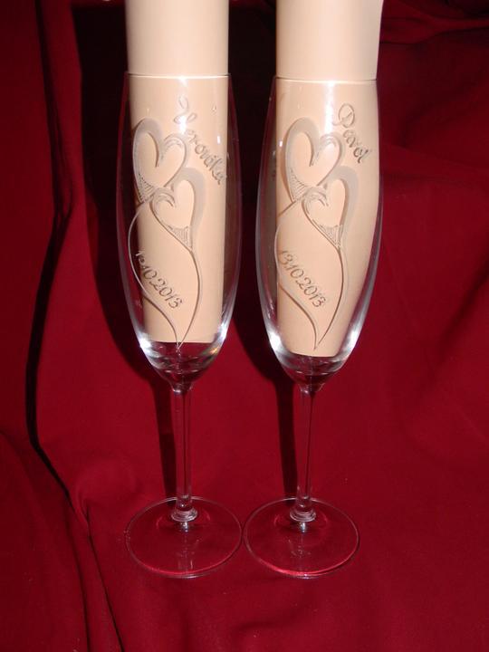 Gravirovanie svadobných pohárov - Obrázok č. 8