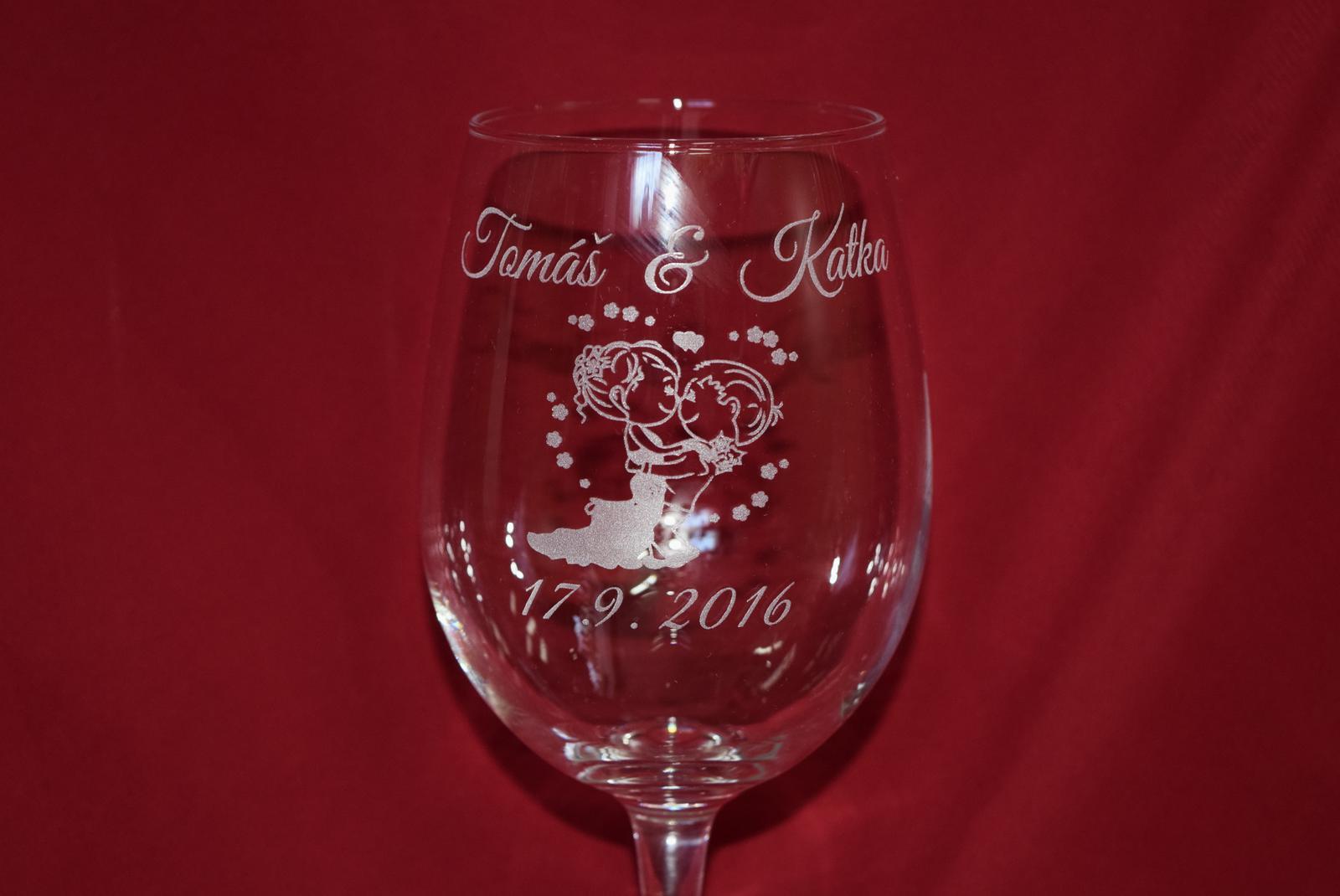 stifler439 - Gravírovaný svadobný pohár na želanie rôzne motívy a poháre na výber.