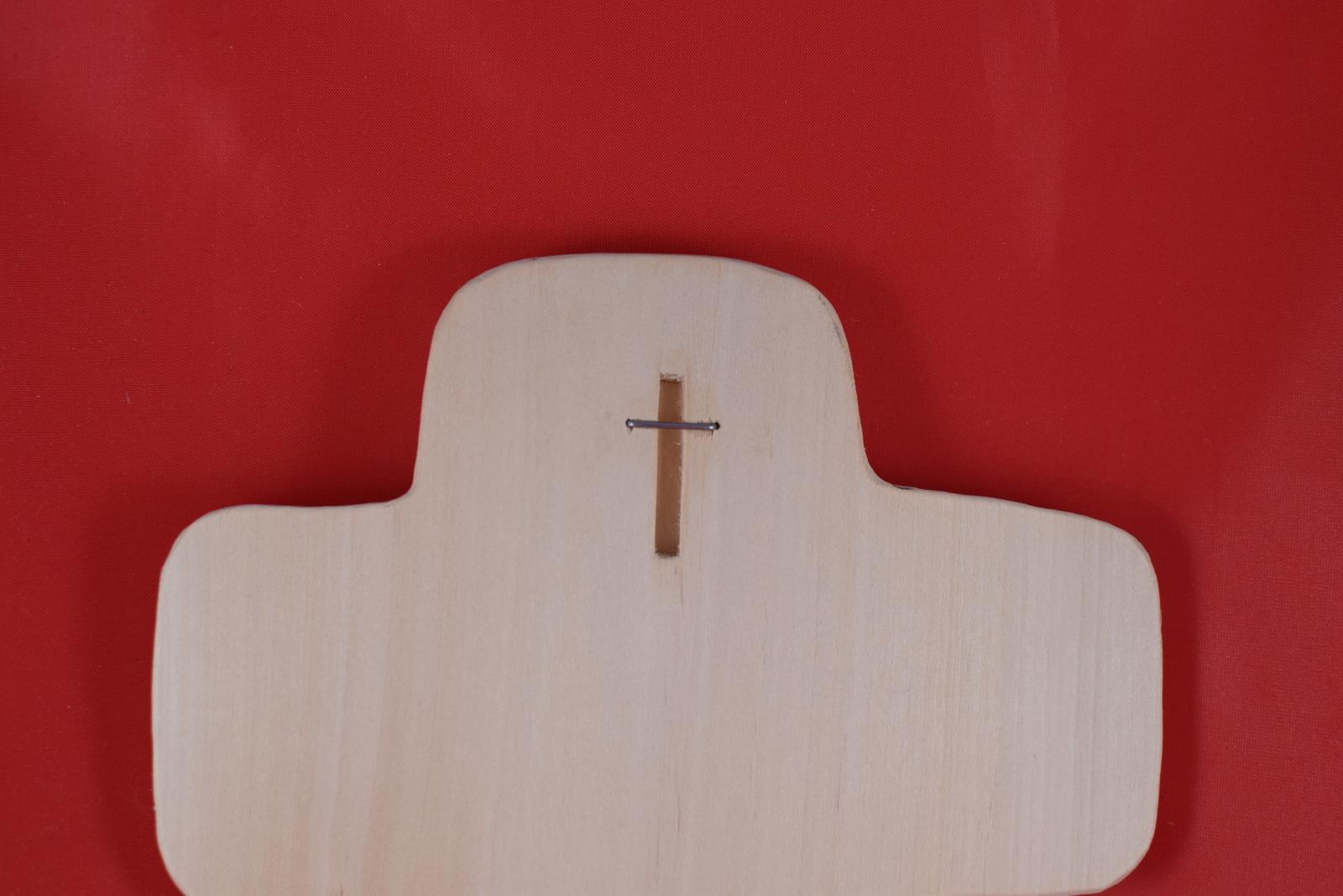 Drevený svadobný križik ako poďakovanie rodičom 1 - Obrázok č. 2