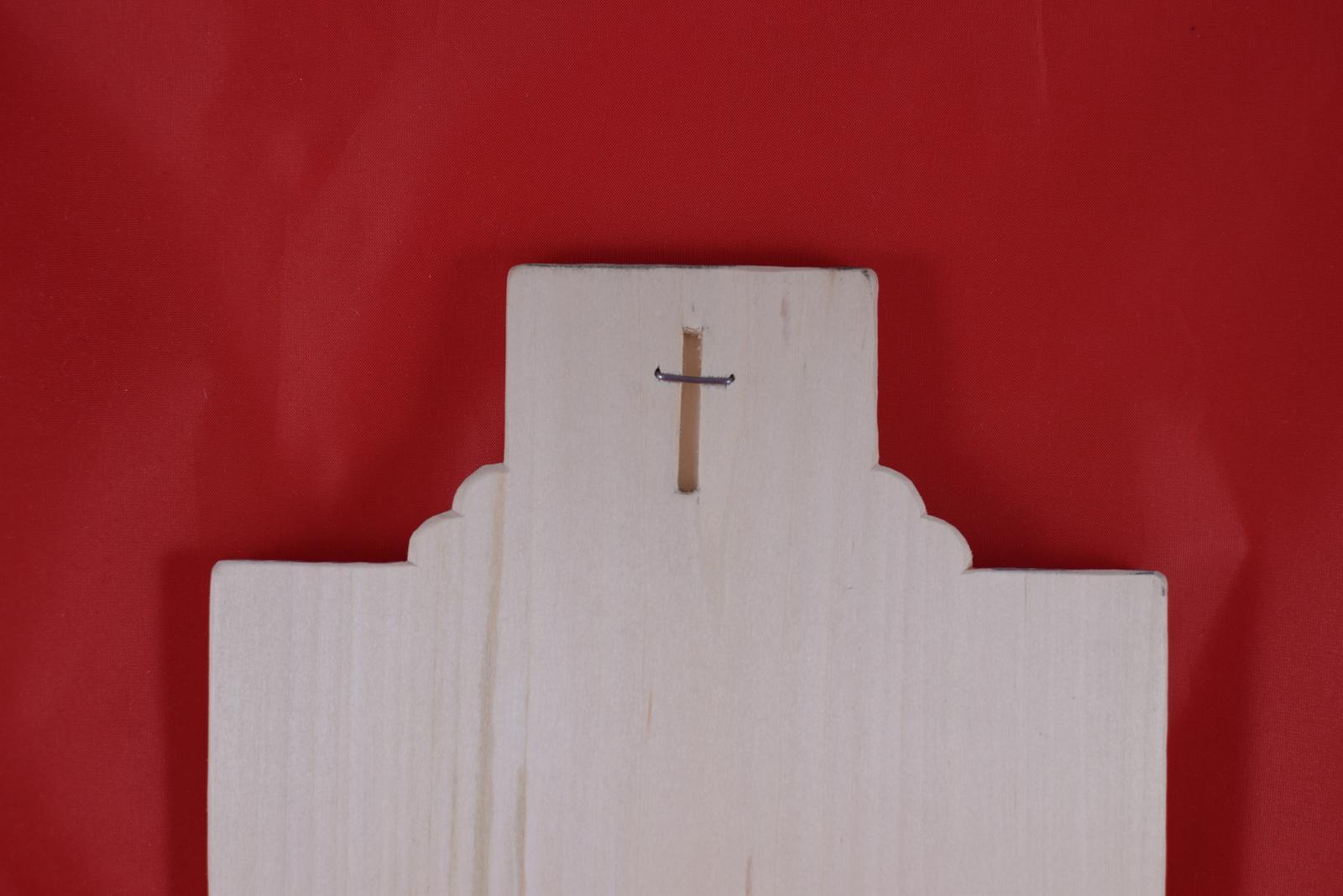 Drevený svadobný križik ako poďakovanie rodičom 3 - Obrázok č. 3