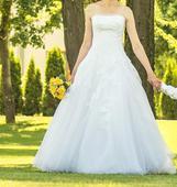 Luxusné svadobné šaty Pronovias, 38
