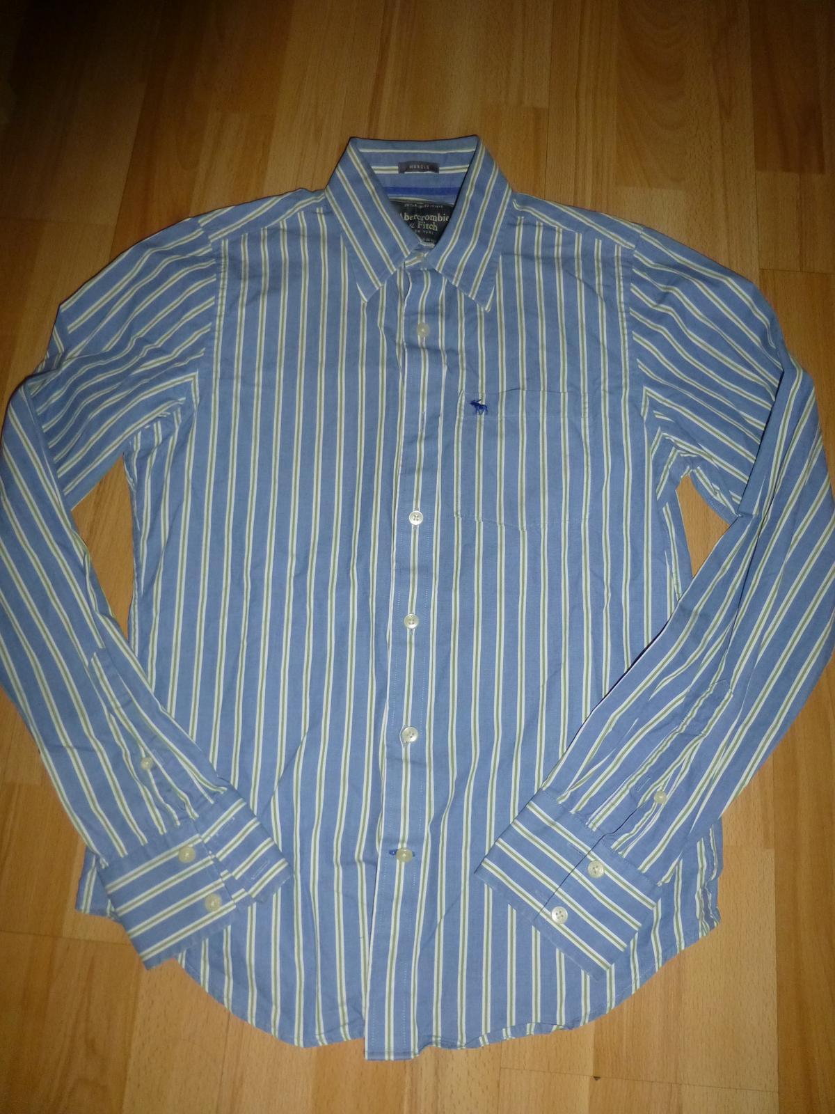 Parádní pánská košile ABERCROMBIE & FITCH - Obrázek č. 1