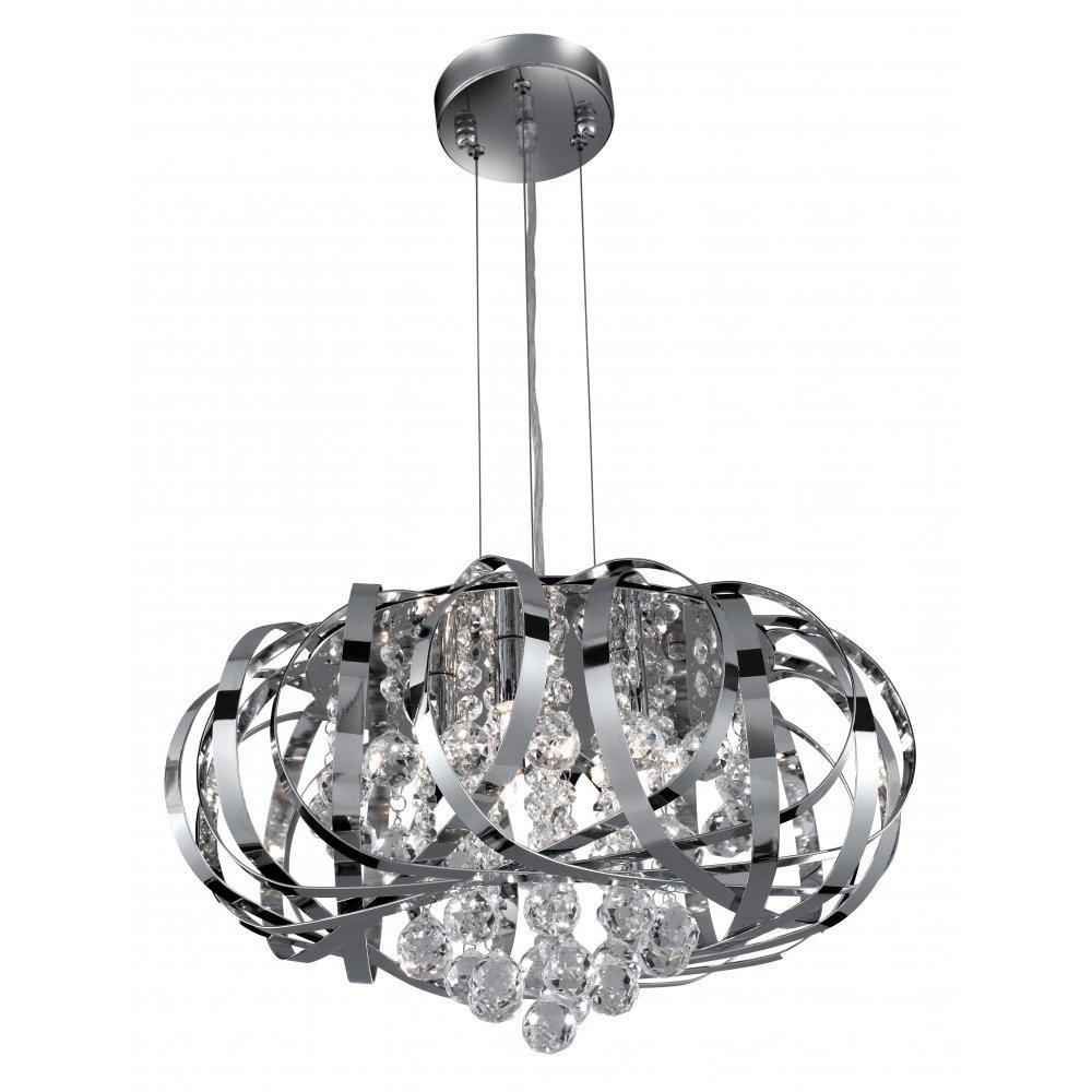 Svietidlá - TILLY CC 5LT PENDANT - CL GLASS BALLS ROZMER: V 250 Š430 G9 5x33W | 330,99 €