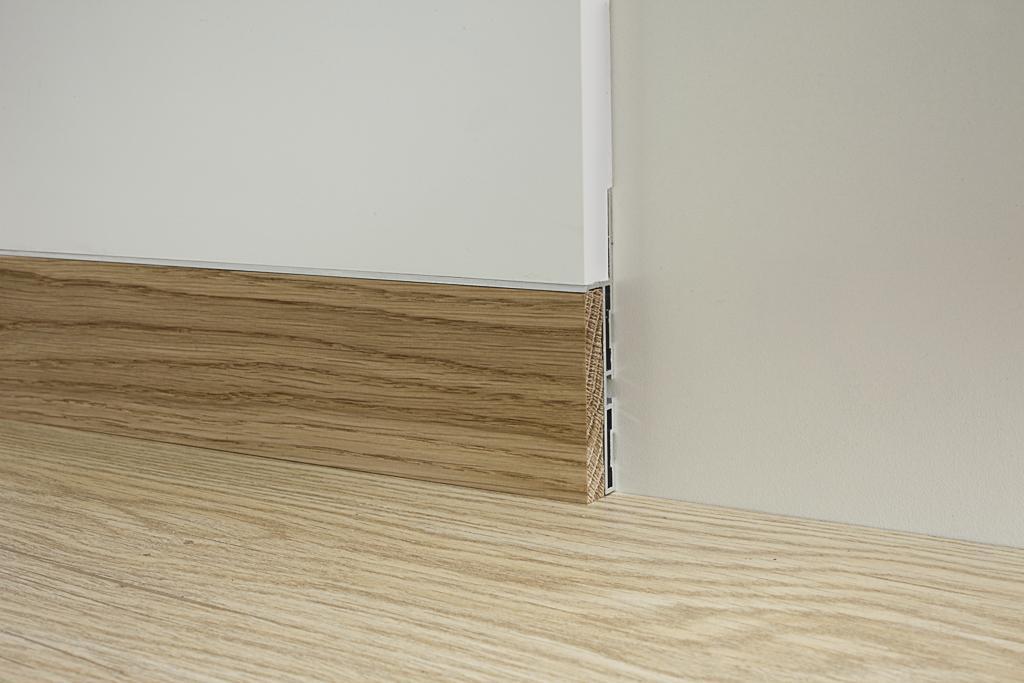 Dizajnové skryté podlahové lišty s jednoduchou montážou ešte pred nanesením omietky alebo sadrokartónu - Obrázok č. 1