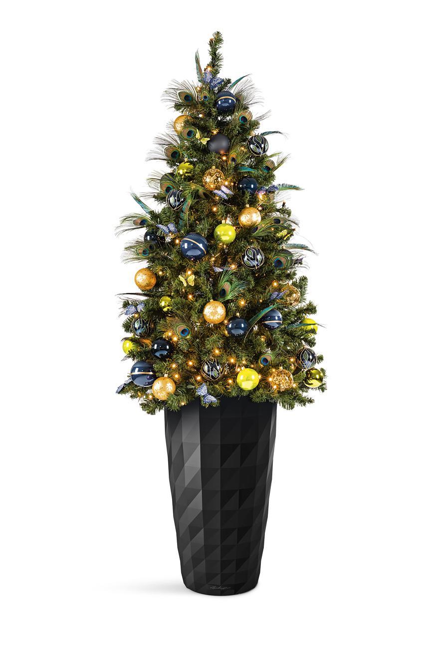 LECHUZA inšpirácia ako využiť kvetináče na vianočnú dekoráciu - Obrázok č. 8