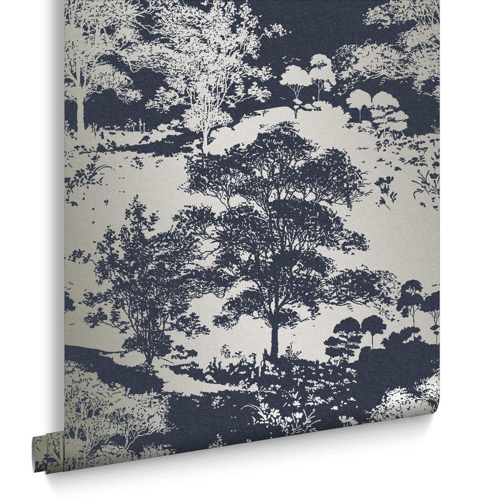 Kolekcia tapiet Meadow | GRAHAM & BROWN - Tapeta Meadow Notte 105230 | GRAHAM & BROWN