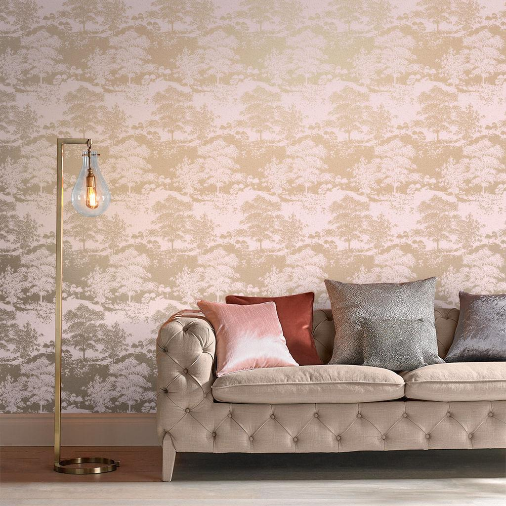 Kolekcia tapiet Meadow | GRAHAM & BROWN - Tapeta Meadow Rose Gold 105229 | GRAHAM & BROWN