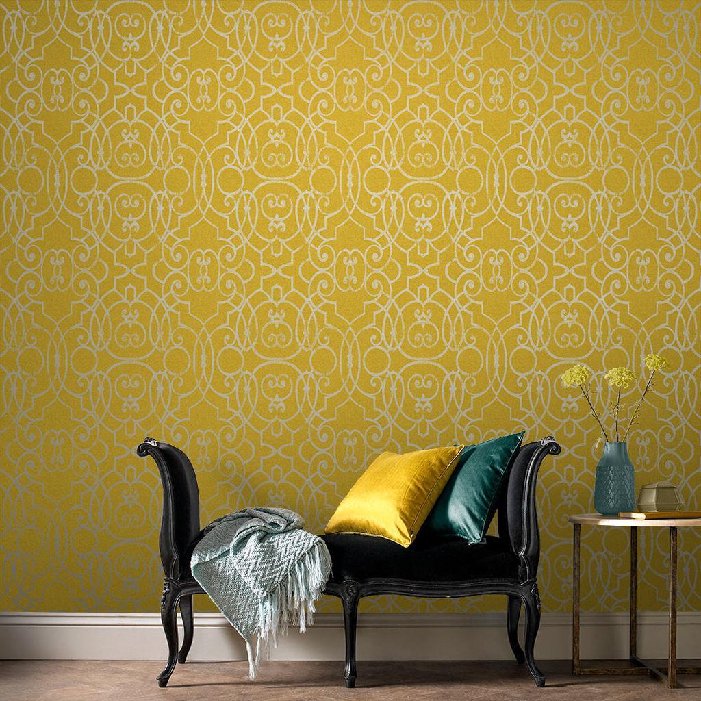Kolekcia tapiet Shoji | GRAHAM & BROWN - Tapeta Shoji Saffron 105234 | GRAHAM & BROWN