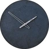 Betónové nástenné hodiny 30 cm CLOCKIES antracit ,