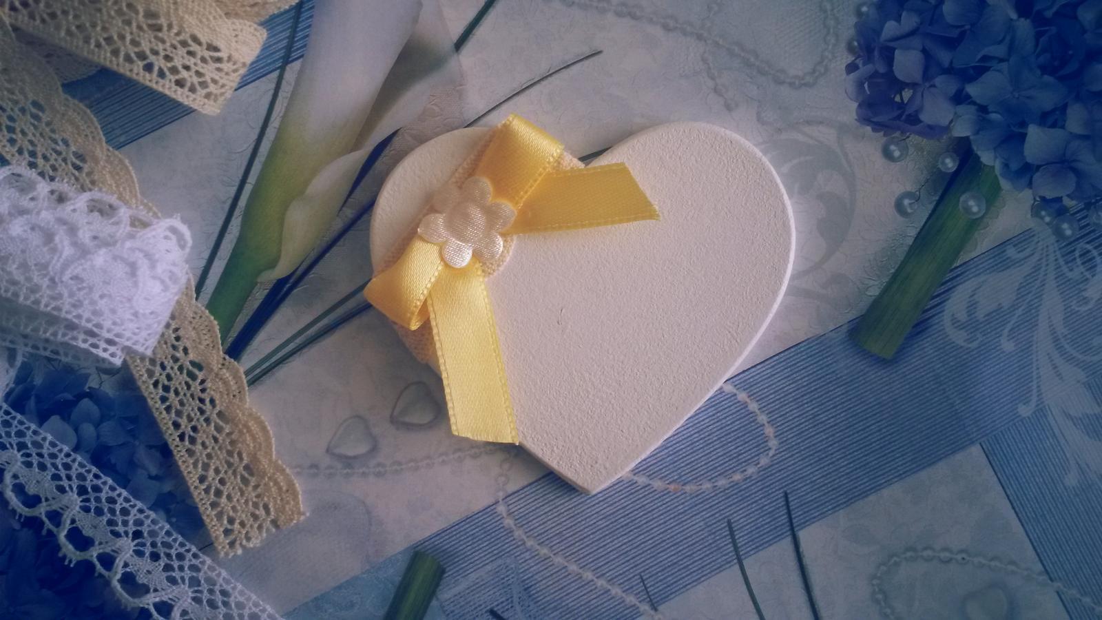 Darček pre svadobčanov ... - na srdiecka sa napise napr.   datum svadby  a text ďakujeme !