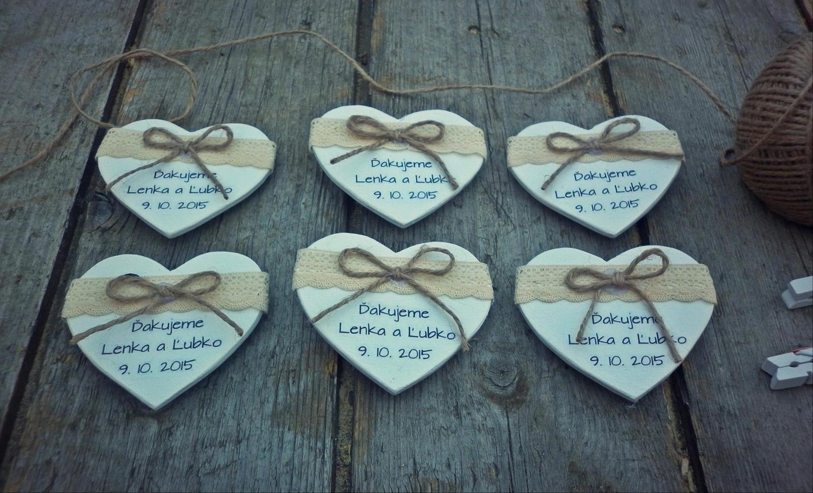 Darček pre svadobčanov ... - Obrázok č. 13