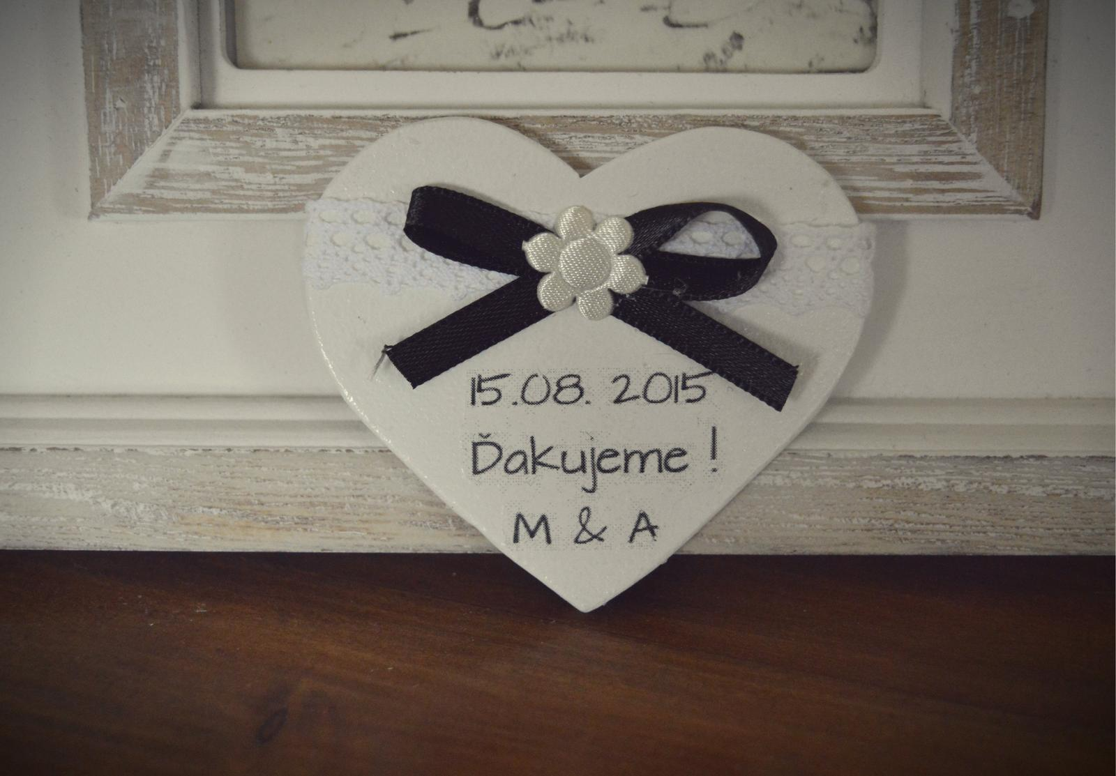 Darček pre svadobčanov ... - Obrázok č. 20