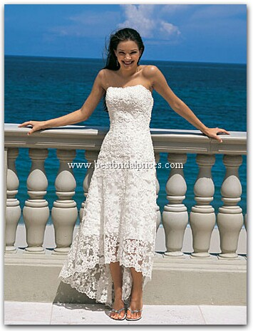 Moja vysnívana svadba:) - Ked budem mat svadbu nahodou na plazi,tak budem mat taketo saty...:)