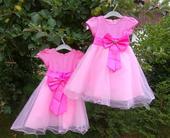 Šaty pro družičky - vhodné pro dvojčata, 92