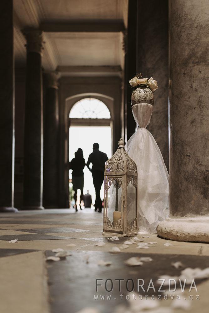 Letní svatba odehrávající se na Kačině a v prostředí hájovny - Obrázek č. 2