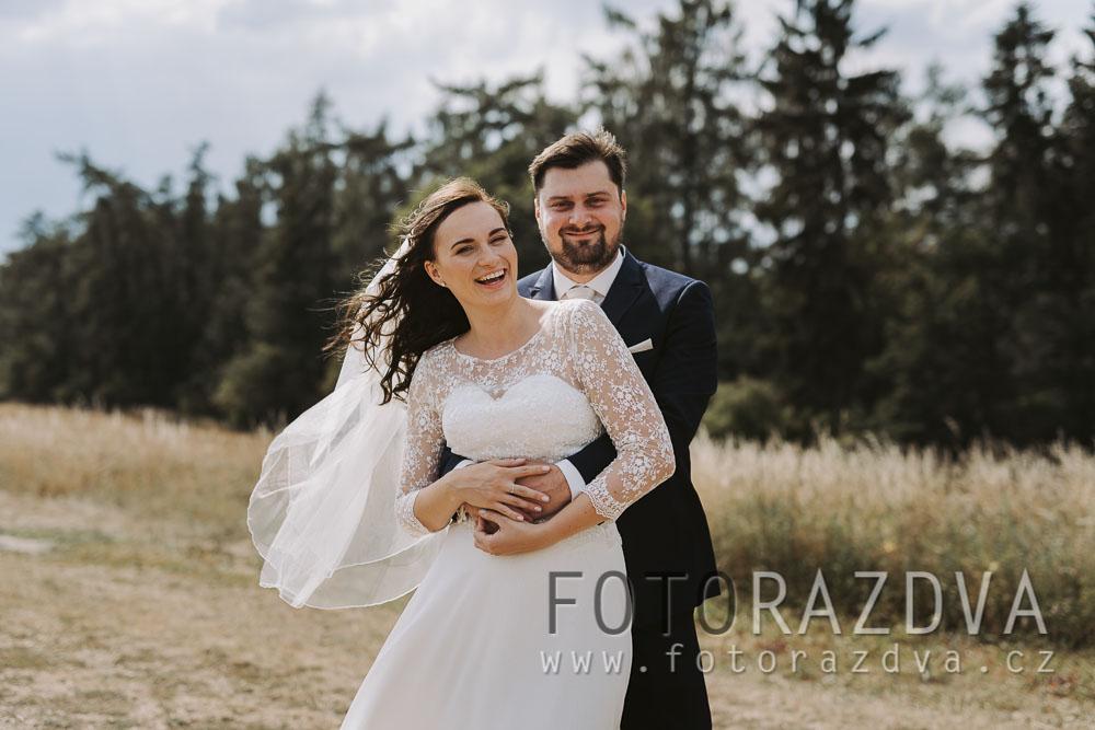 Ze svatby v lesní restauraci - Obrázek č. 2