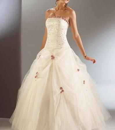 Svatební šaty - růžové i červené až do bordó - Obrázek č. 507