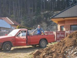 Ja a môj červený šíp :-), na stavbu ako stvorený , odporúčam