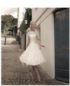Svatební šaty pod kolena XXL, 52