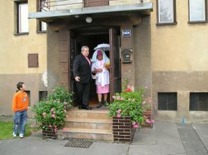 naše druhá falešná nevěsta :-), tu taky nechtěl :-)