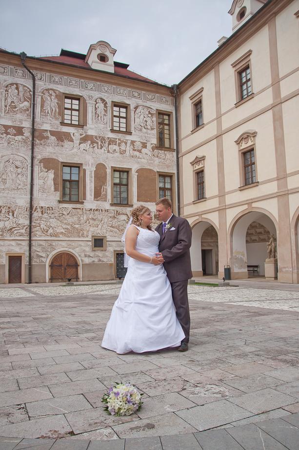 Svatba Zámek Benátky nad Jizerou - Obrázek č. 23