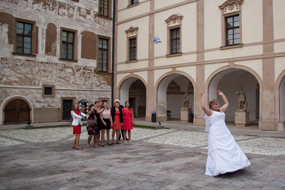 Svatba Zámek Benátky nad Jizerou - Obrázek č. 24