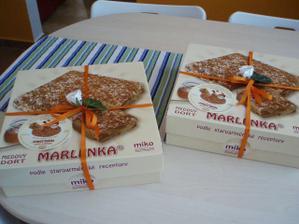 dorty pro maminky - medovníky