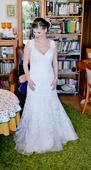 Mori Lee šaty pre nízku nevestu, 34