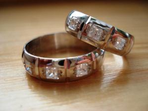 snubní prstýnky připraveny